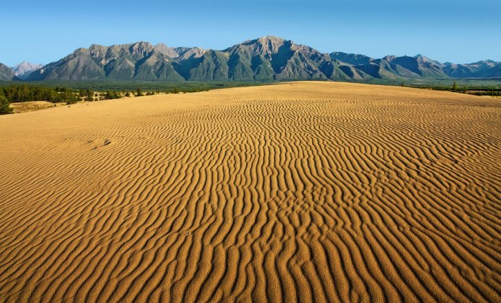 Чарские пески Забайкалья