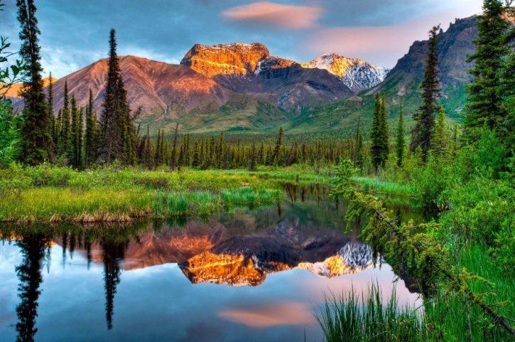 Самые красивые места Аляски