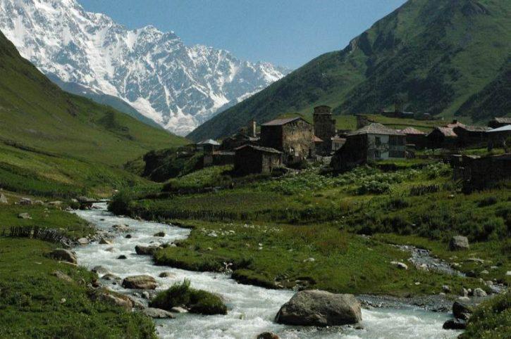 Самые красивые места Кавказа и Закавказья