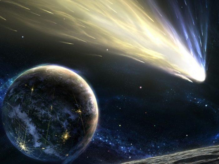 Самые необычные кометы в космосе