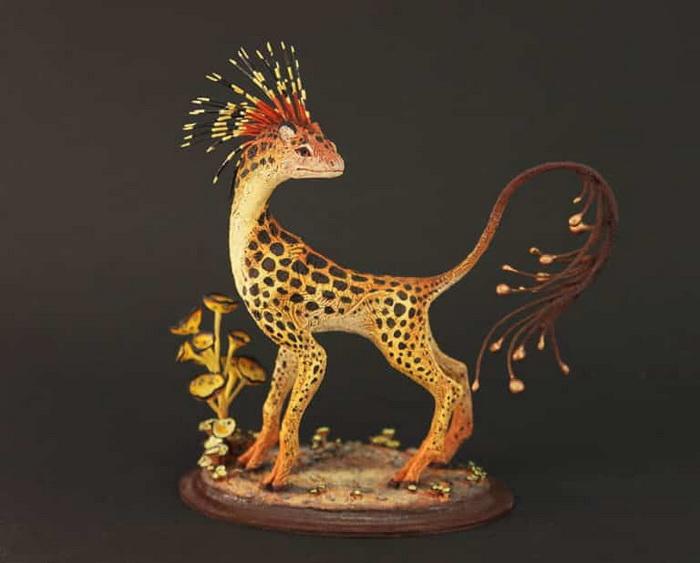 Статуэтки из керамики