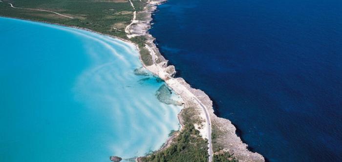 Карибское море и Атлантический океан