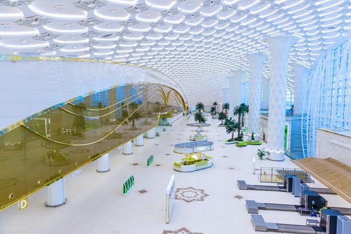 Новый аэропорт в столице Туркменистана