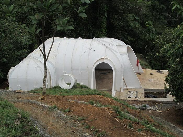 Дом на скорую руку построят за три дня