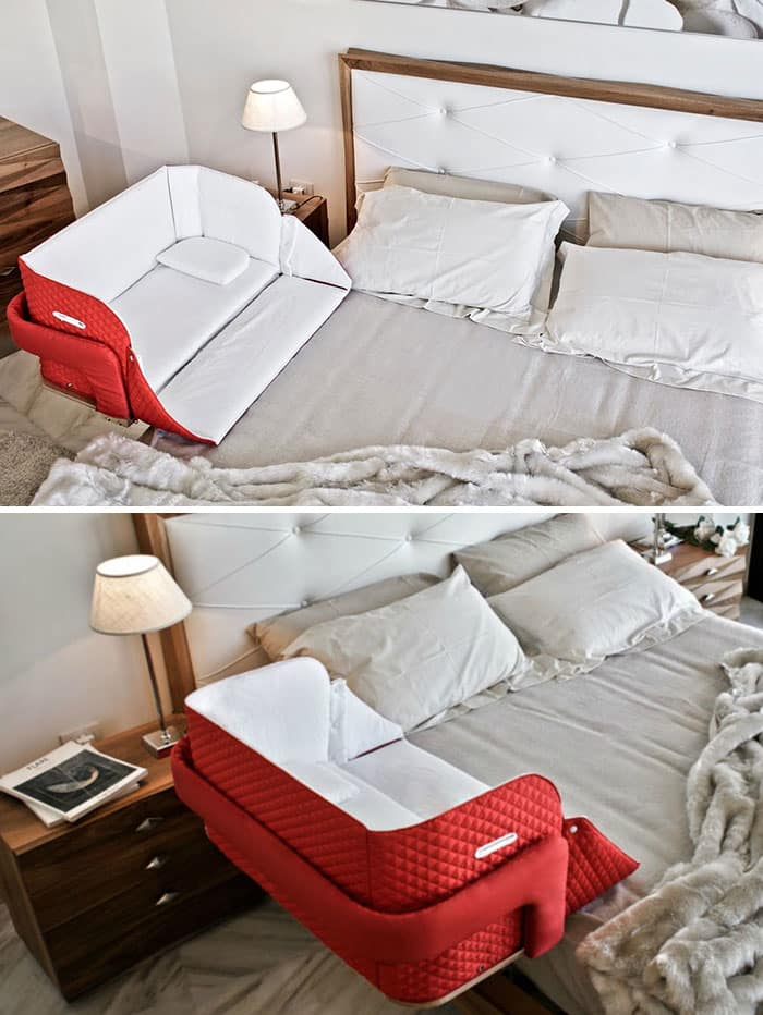 Портативная детская кроватка, которую вы можете прикрепить, где угодно