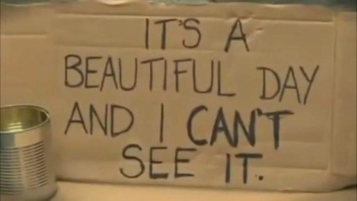 Этот слепой затронул сердца миллионов людей