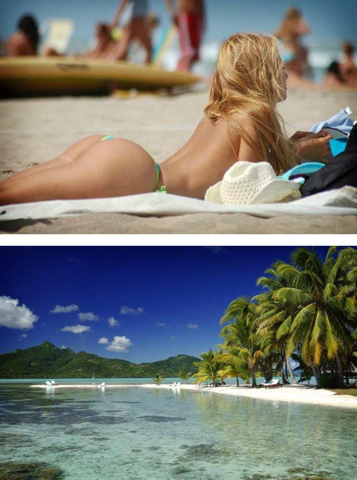 Пляж Таити