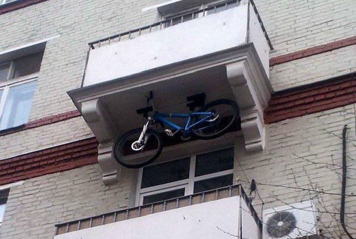 А где еще припарковаться?