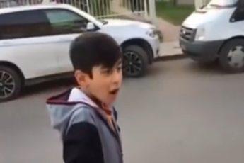 Воры разбегаются, когда видят этого мальчика