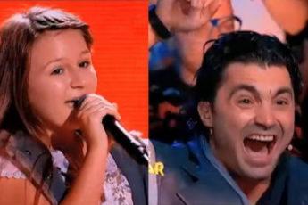 Все судьи открыли рот, когда эта румынская девочка начала петь Пугачёву