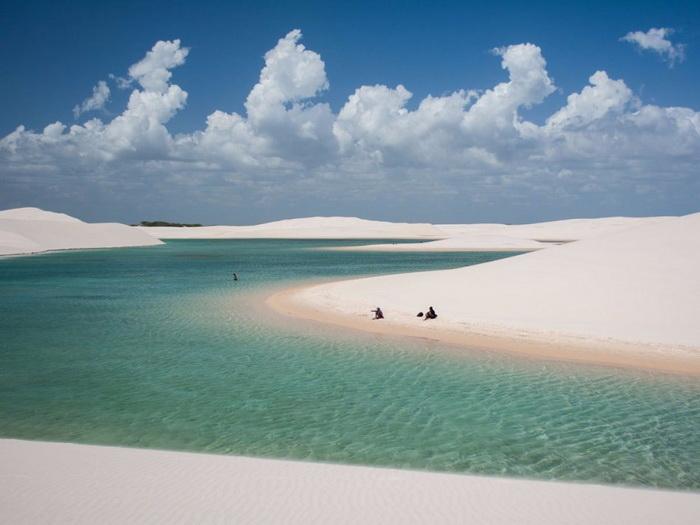 дюны Lençóis Maranhenses