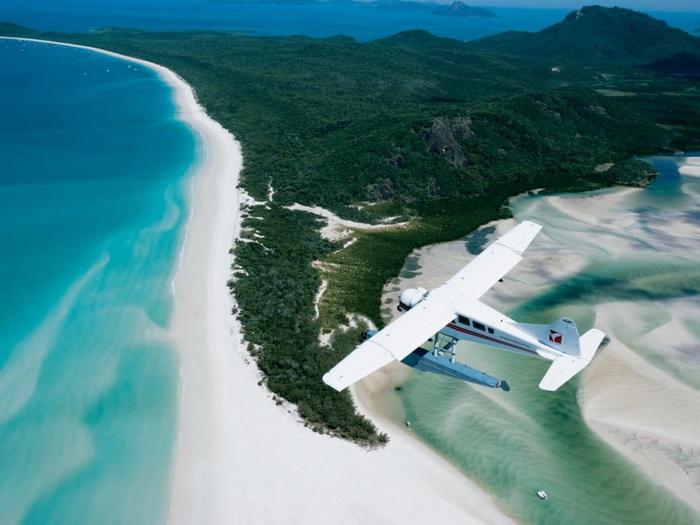 Пляж Вайтхпавен на острове Витсандей