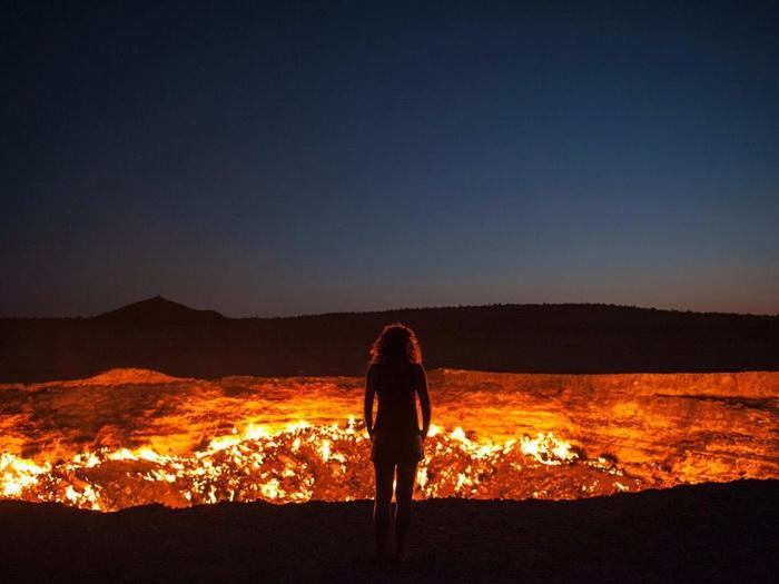 Дверь в ад в Туркменистане