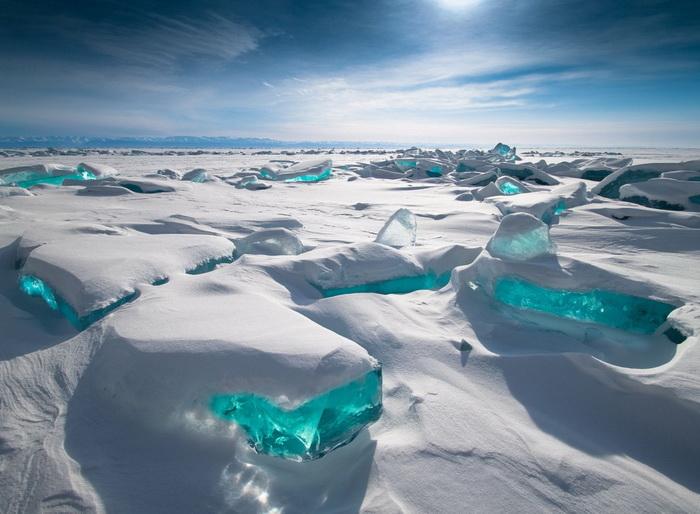 Бирюзовый лед