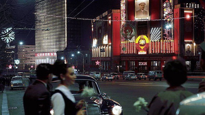 Улица Горького, Москва, 1969 год